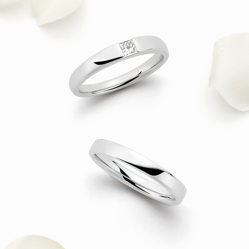ロイヤルアッシャー結婚指輪(マリッジリング) WRA006画像