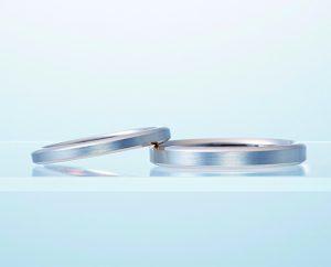 【ニューヨークニワカ】ダイヤなしの結婚指輪 新潟正規代理店