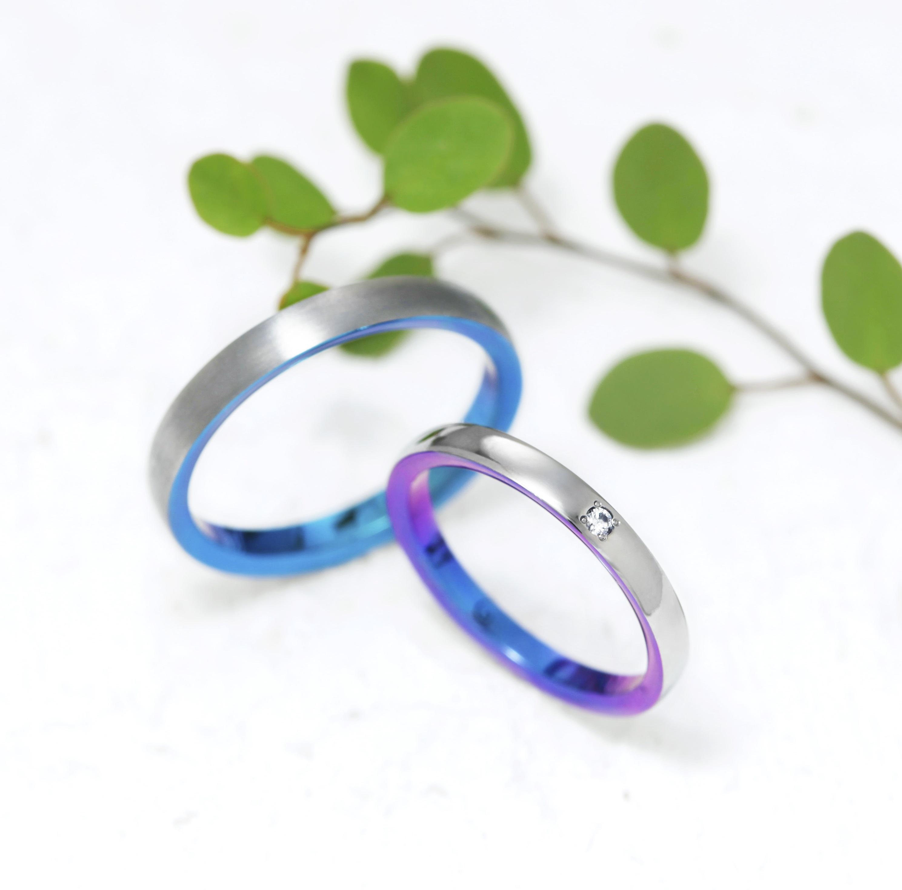 ジルコニウムの結婚指輪|綺麗な色・機能美を持つ素材が選ばれる5つの理由