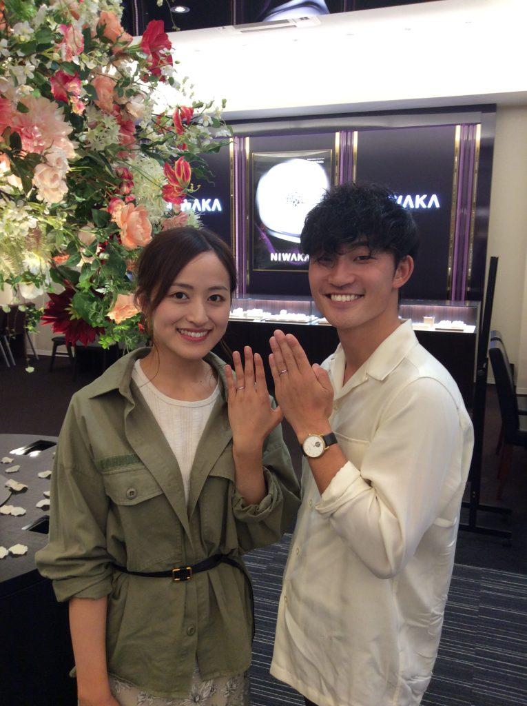 俄 にわか 結婚指輪