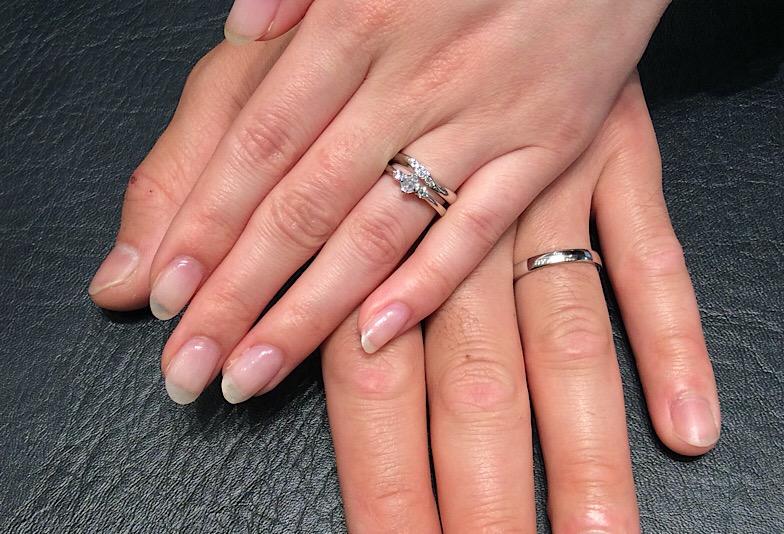 【結婚指輪】ロイヤルアッシャーをご成約のY様&E様/上越市