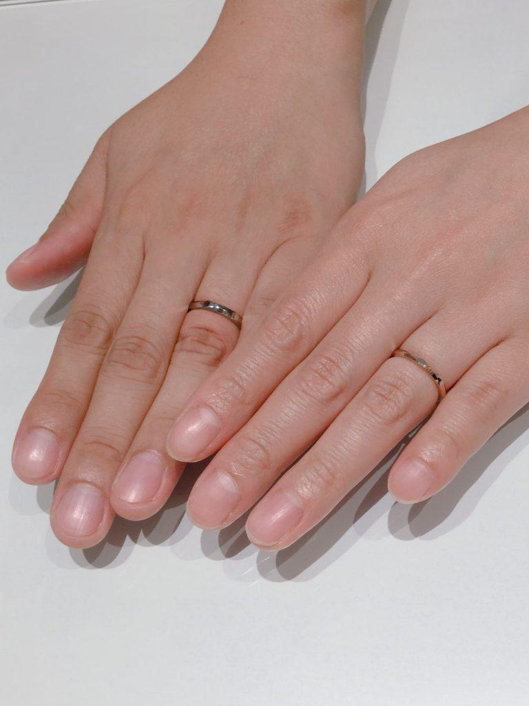 ニューヨークニワカの結婚指輪