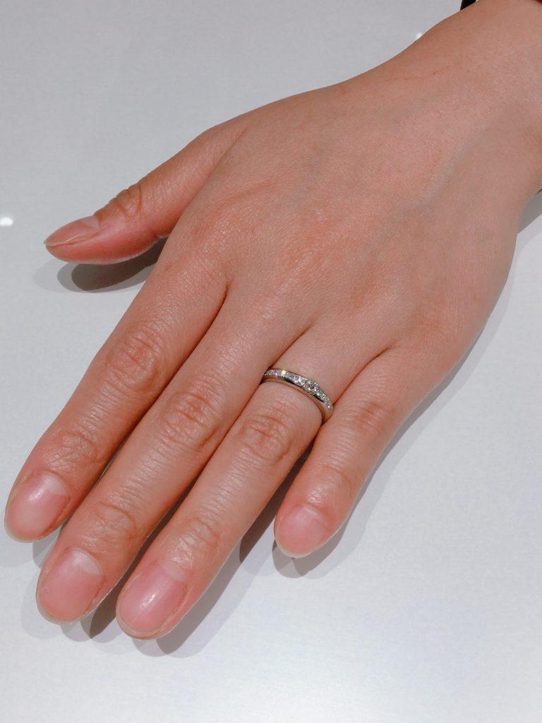 ディズニーの婚約指輪