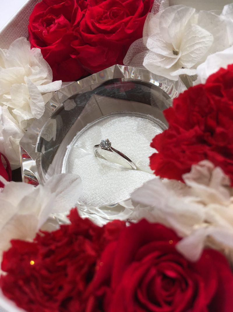 【新潟プロポーズリング】クリスマス限定のピンクダイヤモンド婚約指輪に想いを込めて