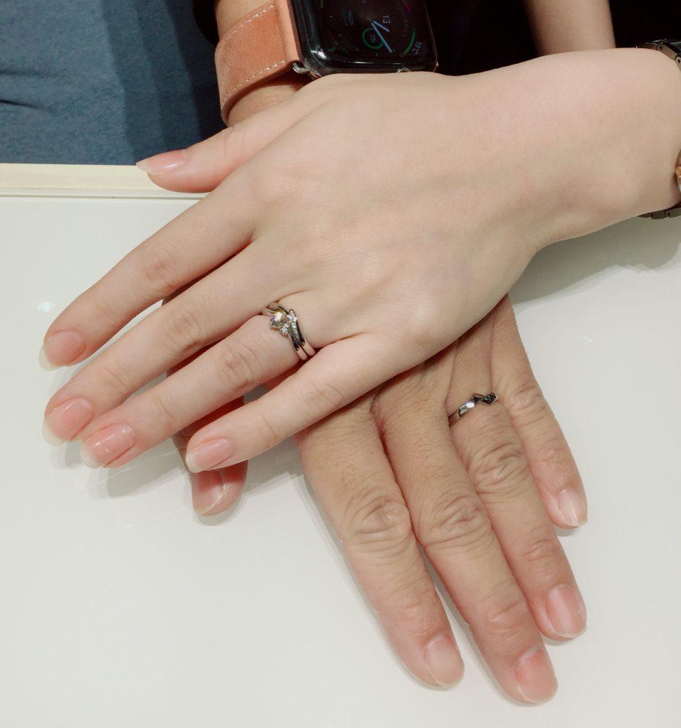 俄の婚約指輪・結婚指輪