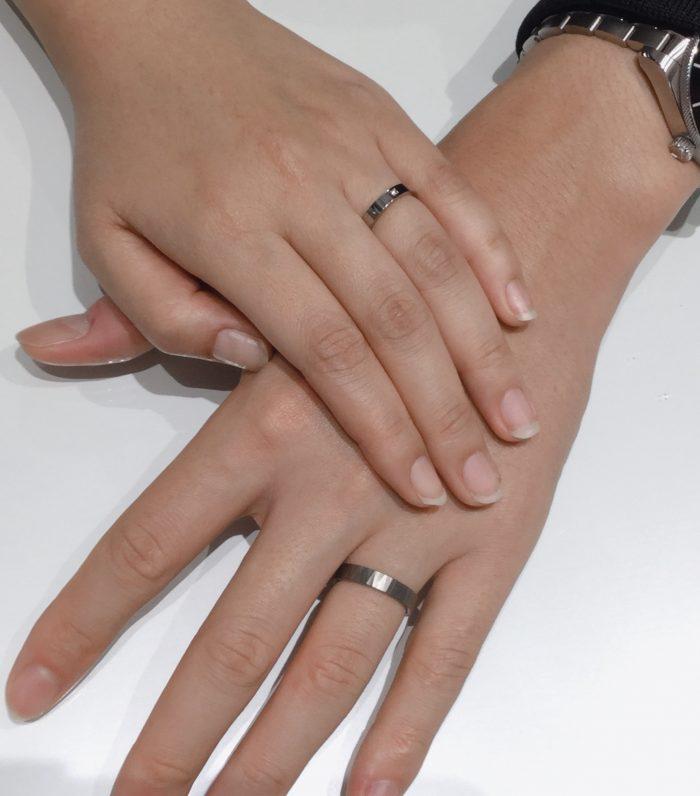 ナオの結婚指輪