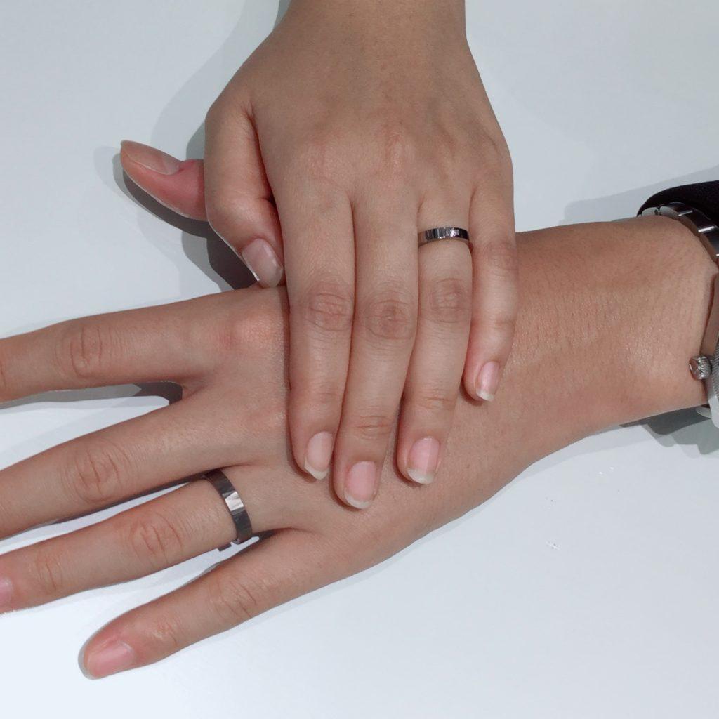 SORAの結婚指輪「ナオ」