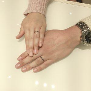 【結婚指輪の王道】NIWAKA「ことほぎ」をご成約(村上市/K様・N様)