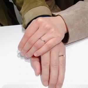 【日本の結婚指輪】NIWAKA[由良][ことのは]をご成約(上越市S様・三条市Y様)
