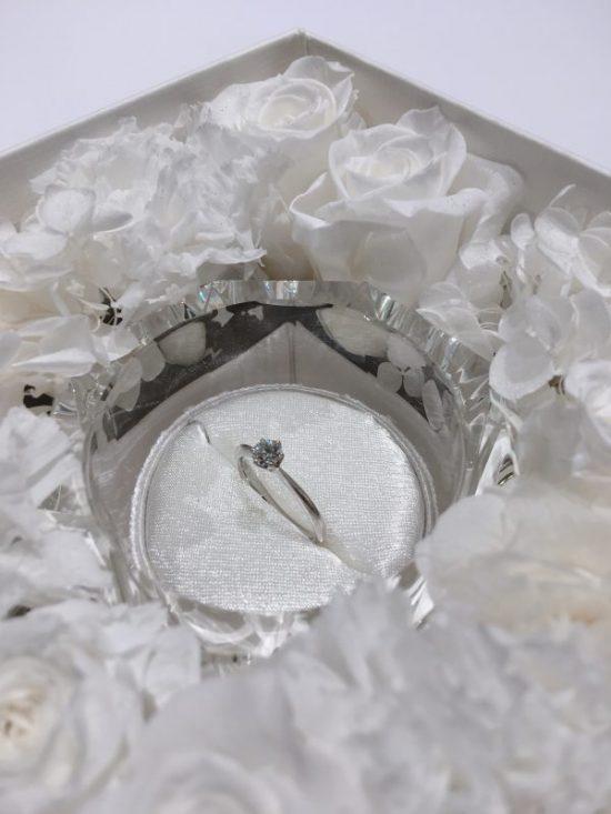 ダイヤモンドの輝きが決め手|ラザールダイヤモンドの婚約指輪をプロポーズリングとしてご成約 新潟市K様