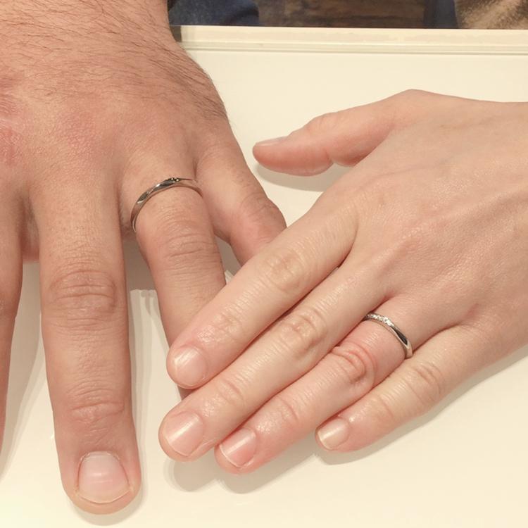 こだわり派必見!セミオーダーの結婚指輪【LAPUR(ラピュール)】ご成約(柏崎市/S様・R様)