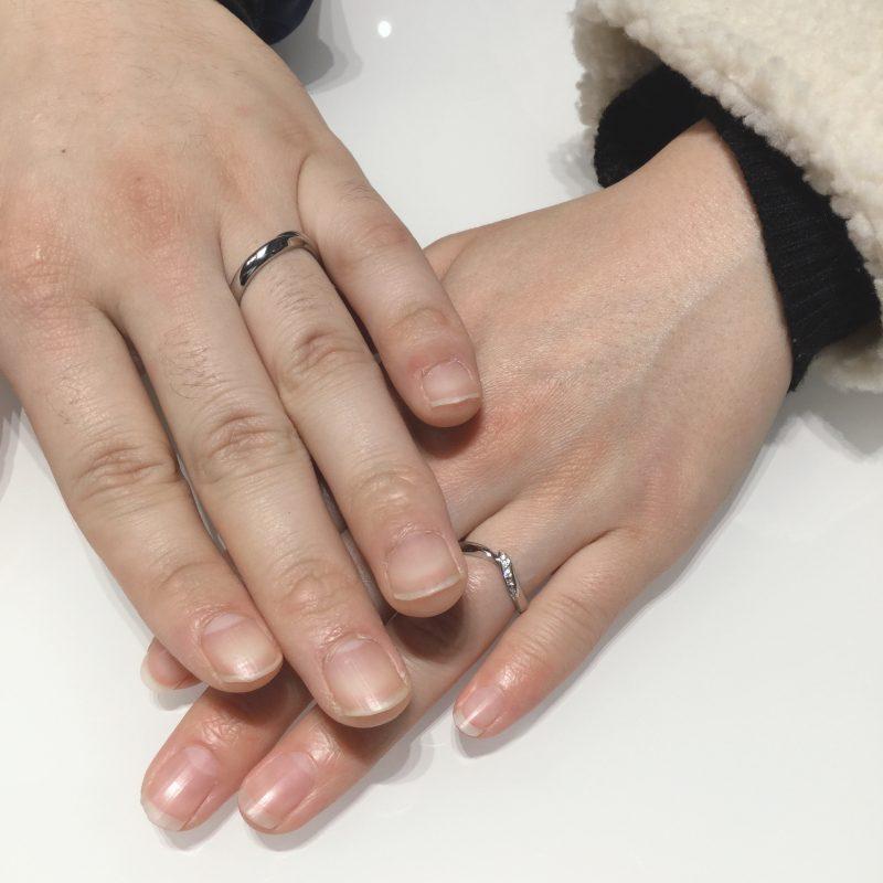 【NIWAKA/初桜】結婚指輪に込められた特別な想いとストーリー(刈羽村・柏崎市/K様・S様)
