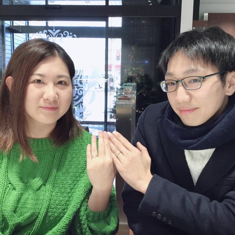 【NIWAKA/雪佳景(せっかけい)】結婚指輪に表現された想いと物語に共感(魚沼市/K様・M様)
