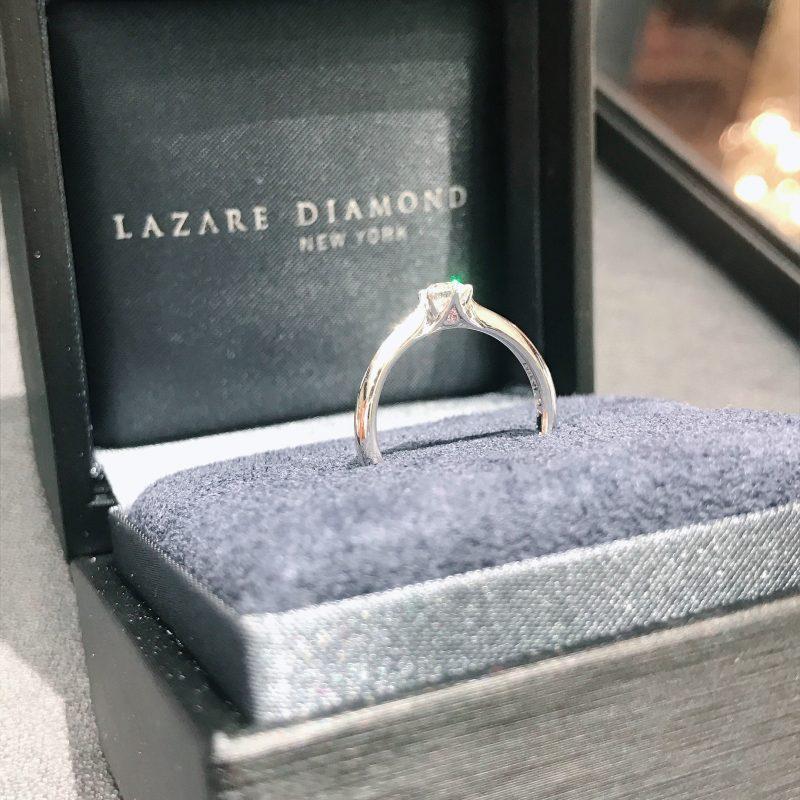 サプライズプロポーズは世界限定の婚約指輪で|ラザールダイヤモンド「マチルダ」をご成約(新潟県/T様)