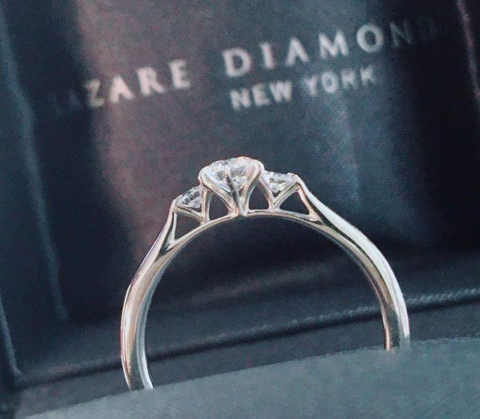 新素材「フェアリープラチナム」の婚約指輪