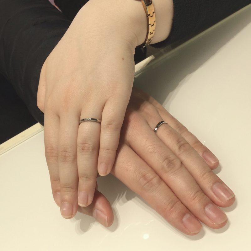 ダイヤモンドの輝きが決め手!ラザールダイヤモンド「フェアリープラチナム」結婚指輪をご成約(新潟市・横浜市/A様・Y様)