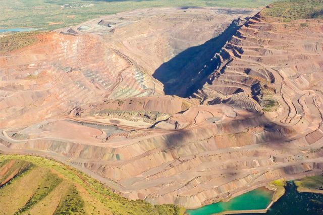ピンクダイヤモンドが唯一採掘できるアーガイル鉱山