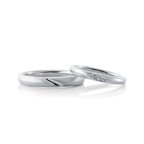 CAFERINGの4石の結婚指輪