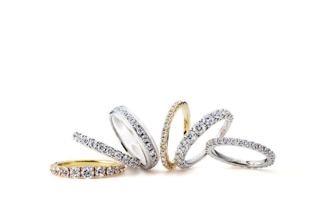 【新潟】エタニティリング特集|ファッションにはもちろん婚約指輪・結婚指輪にもぴったりのエタニティリング