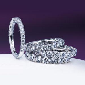 俄のエタニティリングの婚約指輪『久遠』