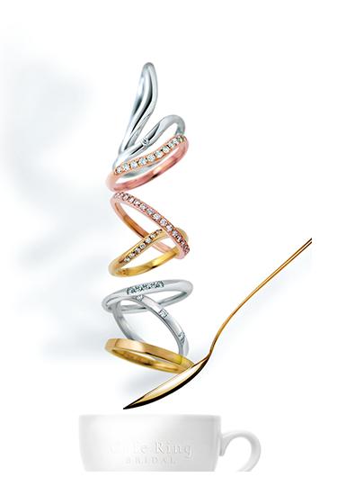 カフェリング-CAFERING-のセミオーダーメイドの結婚指輪