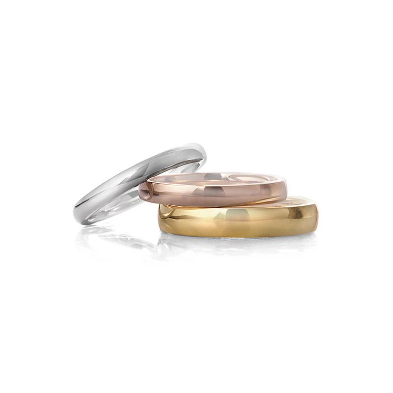 ゴールドの結婚指輪を選ぶなら 知っておきたい素材とデザイン