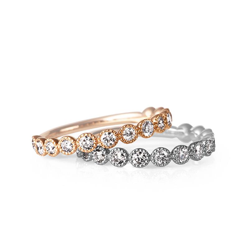 アンティーク 可愛い 結婚指輪 ルシエ パニエ