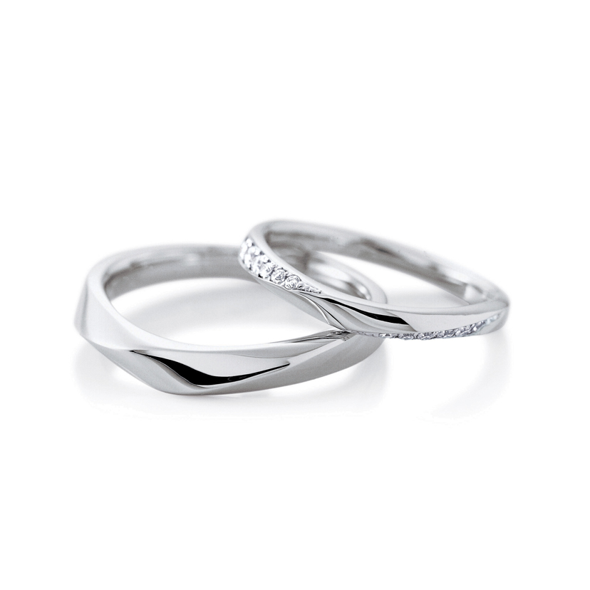 CAFERINGの結婚指輪 ノエル