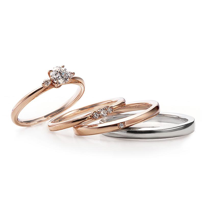 アンティークな結婚指輪 ルシエ ロズレ
