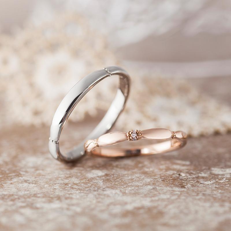 アンティークな結婚指輪