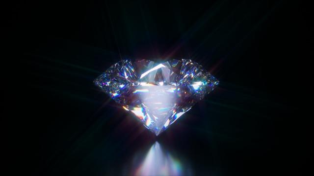 ダイヤモンドの輝き