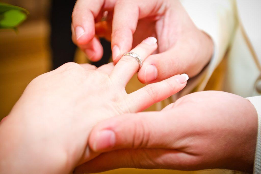 指輪 交換