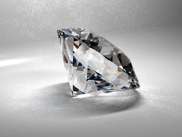 クラリティ(透明度)の高いダイヤモンド
