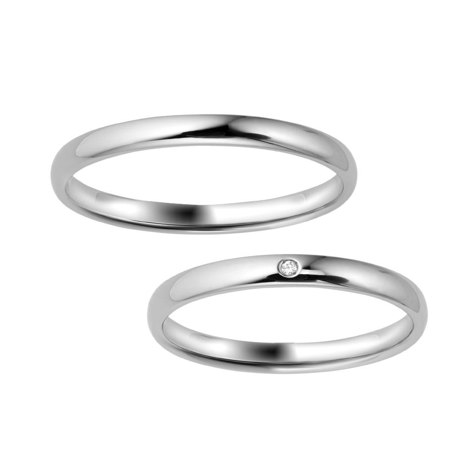 結婚指輪のスタンダードなデザイン