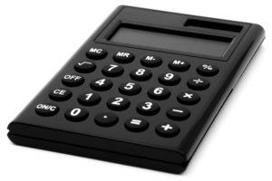 相場や予算 イメージ 電卓の画像
