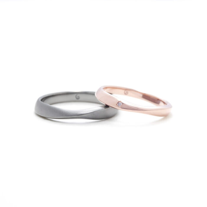 SORA コトー タンタルの結婚指輪