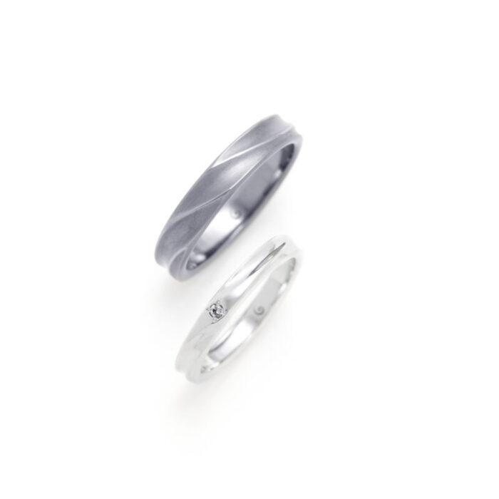 SORA マーマー タンタルの結婚指輪