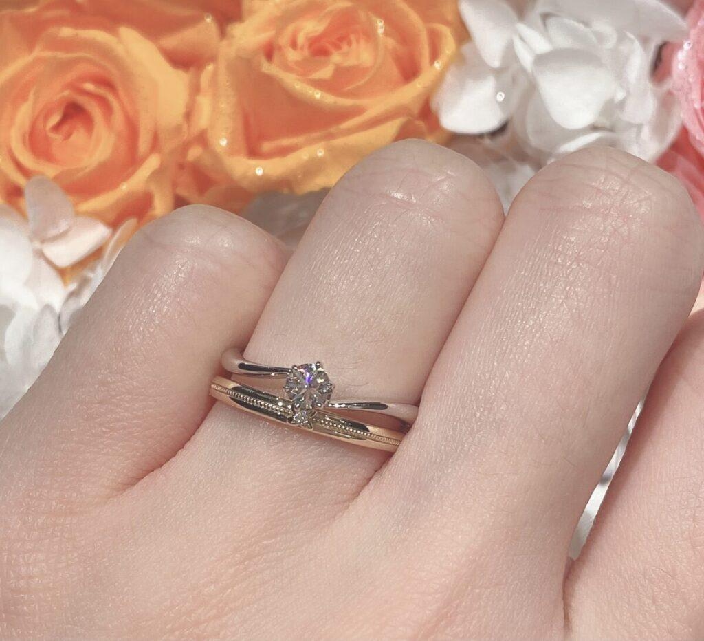 結婚指輪 重ねづけ
