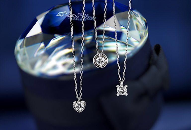 ロイヤルアッシャーダイヤモンドネックレス