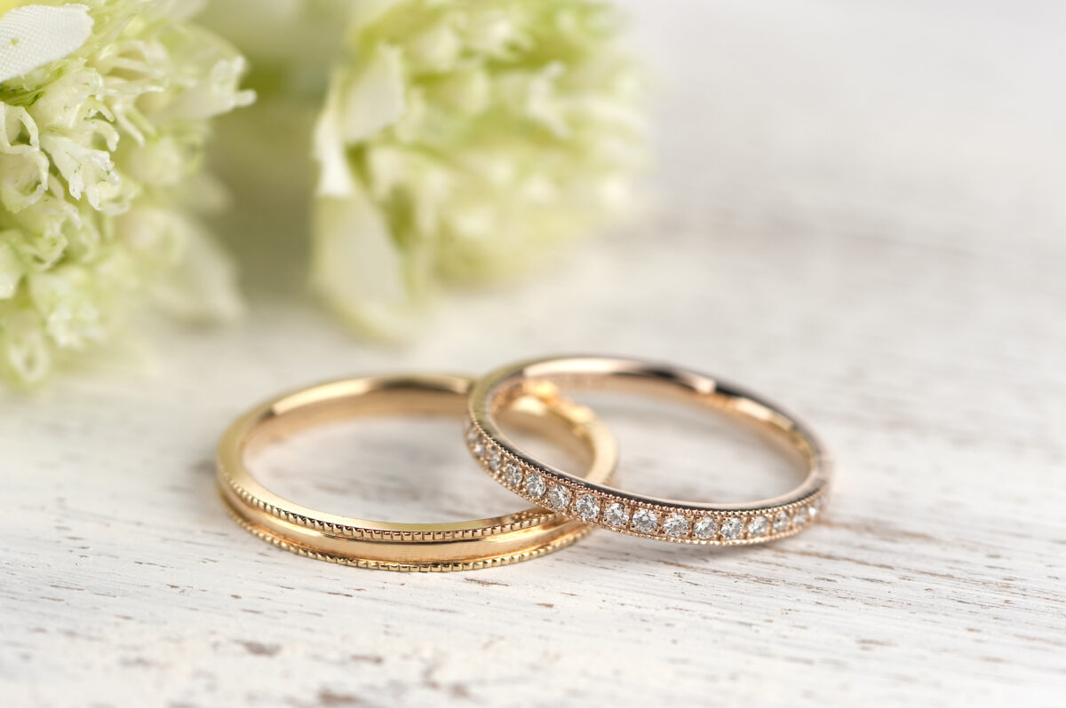ラブボンド 結婚指輪 ピンクゴールド