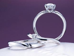俄 NIWAKA「結」婚約指輪と結婚指輪