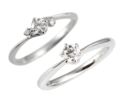 """リング ご婚約指輪が一番多く選ばれています。多くの女性にとって婚約指輪は永遠の""""憧れ""""です。"""