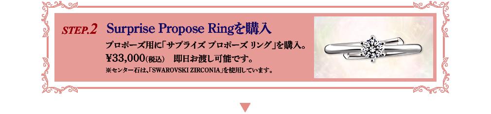 Surprise Propose Ringを購入