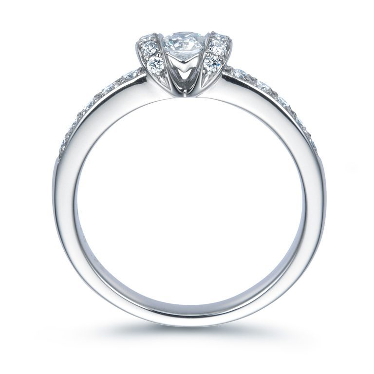 R008|ロイヤルアッシャー 婚約指輪