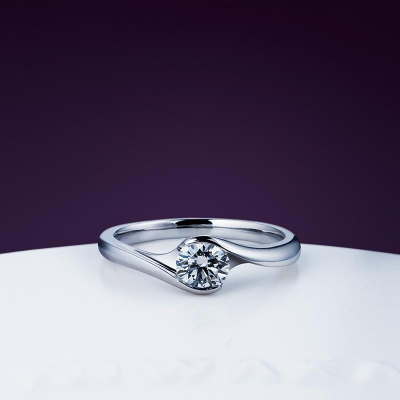 暁 -あかつき-|エンゲージ|俄の婚約指輪