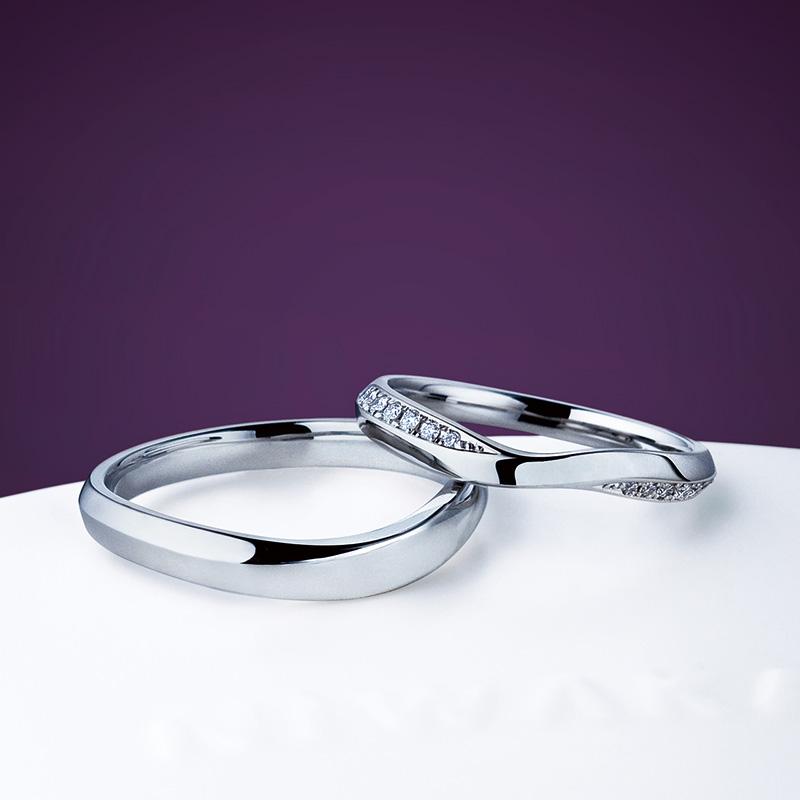 茜雲(あかねぐも)|俄 結婚指輪