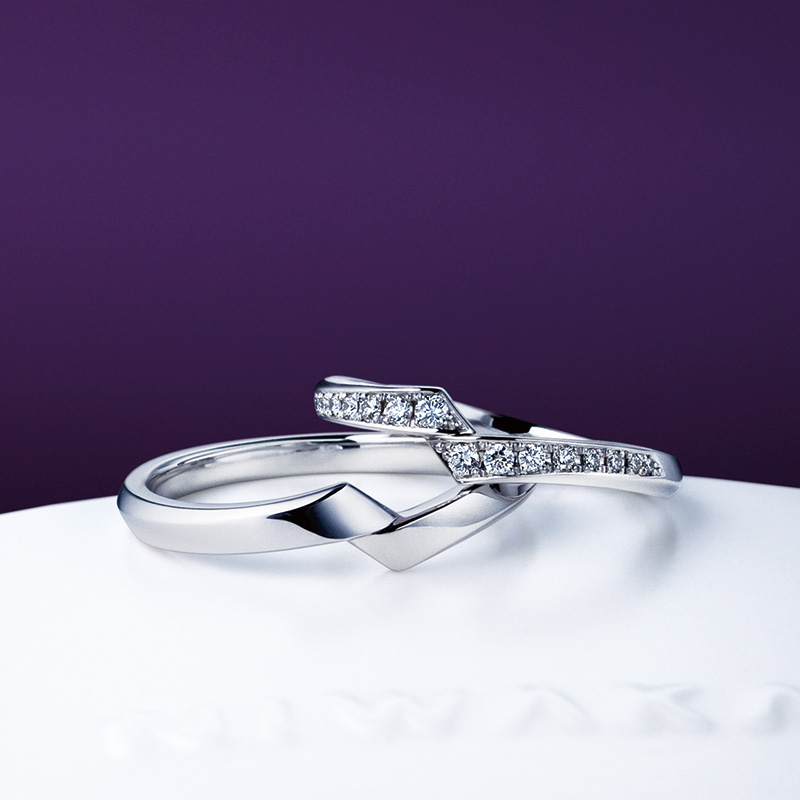 綾(あや)|俄 結婚指輪