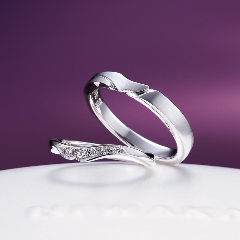 唐花(からはな)|マリッジ|俄の結婚指輪