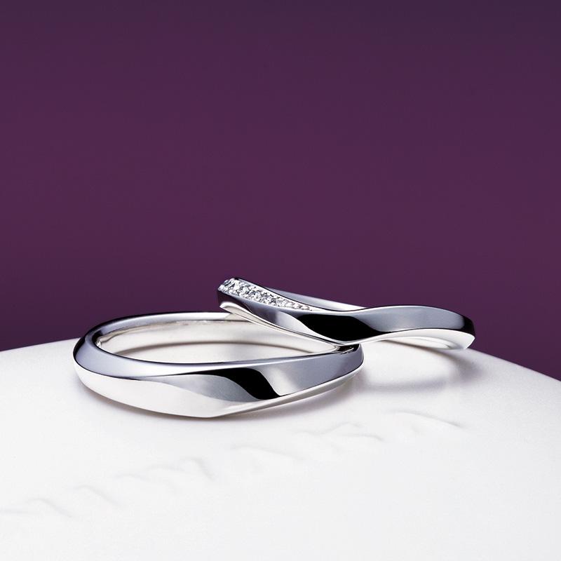 水鏡(みずかがみ)|俄 結婚指輪