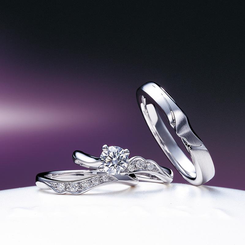 唐花(からはな)|俄の婚約・結婚指輪